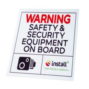 Tech Warning Sticker