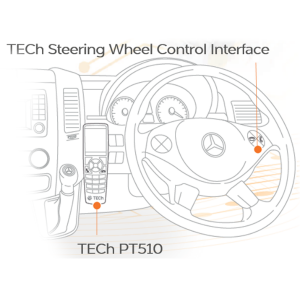 TECh Telephone Steering Wheel Control Interface – Mercedes Actros & Sprinter