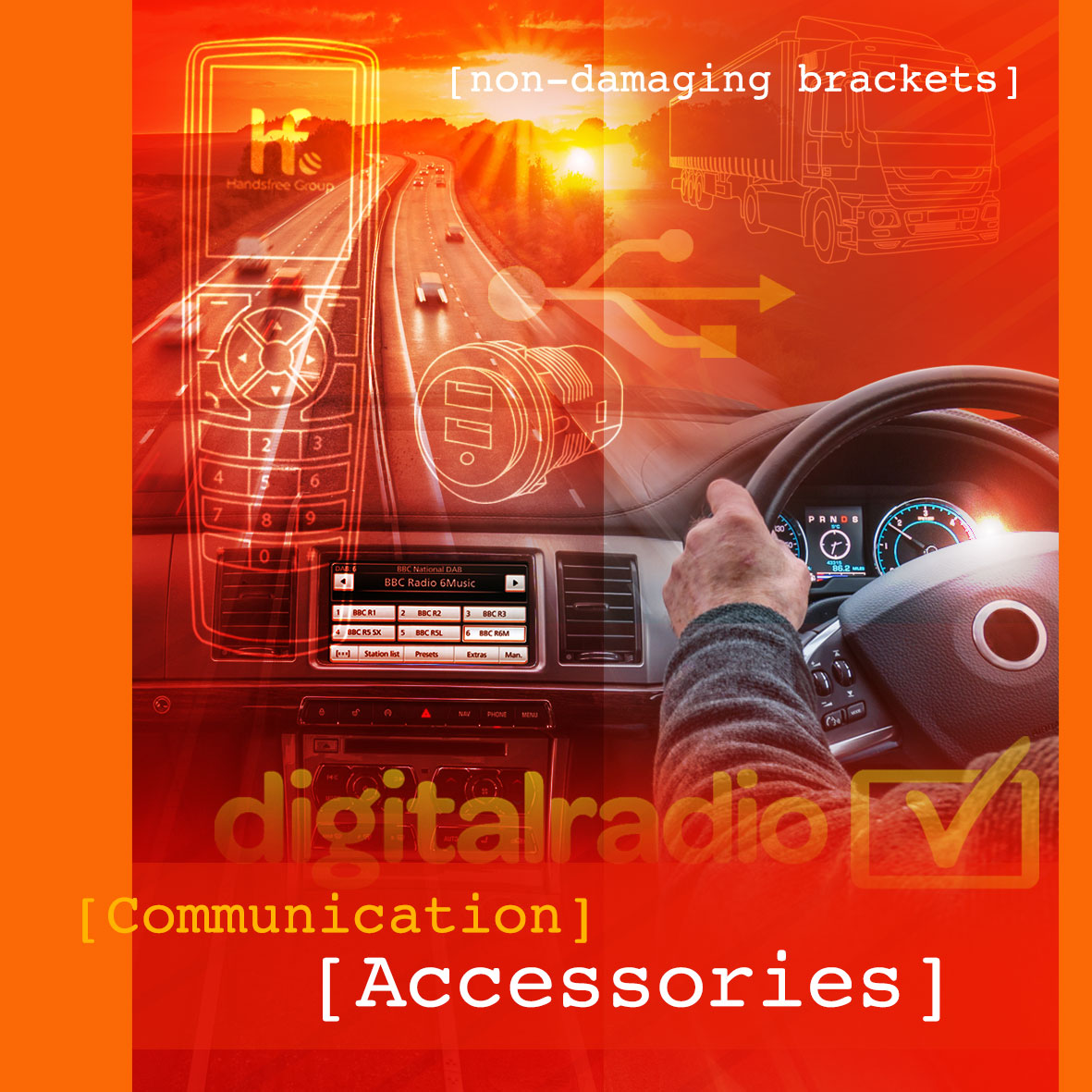 Handsfree Kit Accessories